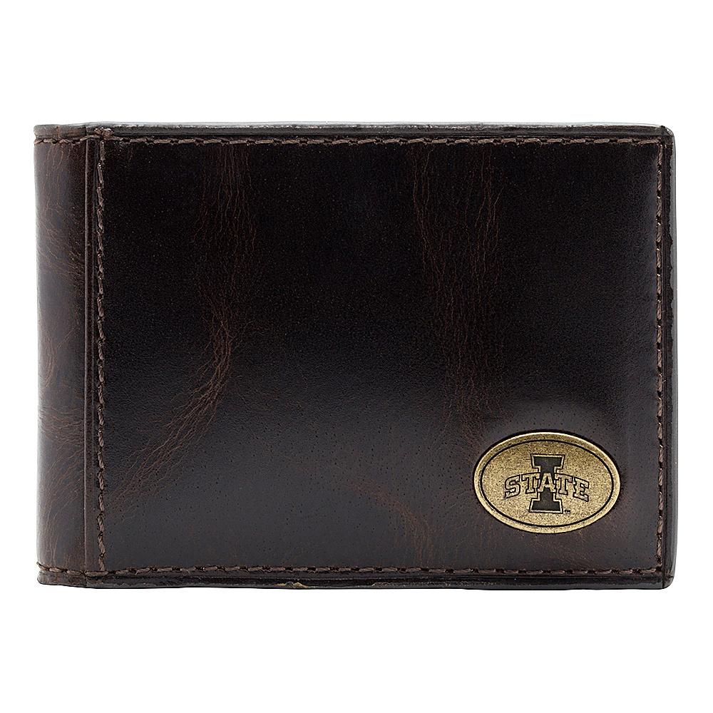Jack Mason League NCAA Legacy Slim Bifold Iowa State Cyclones - Jack Mason League Mens Wallets - Work Bags & Briefcases, Men's Wallets
