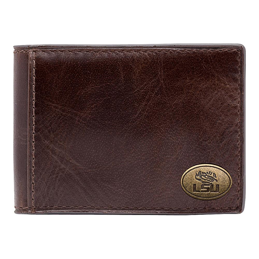 Jack Mason League NCAA Legacy Slim Bifold LSU Tigers - Jack Mason League Mens Wallets - Work Bags & Briefcases, Men's Wallets