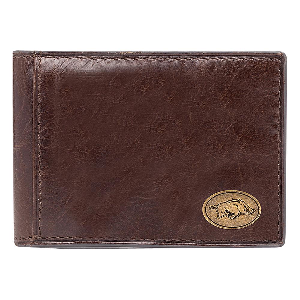 Jack Mason League NCAA Legacy Slim Bifold Arkansas Razorbacks - Jack Mason League Mens Wallets - Work Bags & Briefcases, Men's Wallets