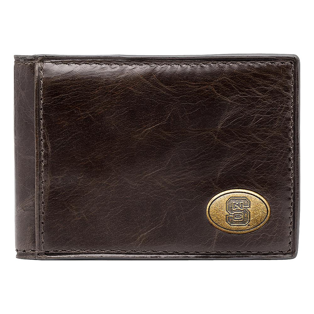 Jack Mason League NCAA Legacy Slim Bifold NC State Wolfpack - Jack Mason League Mens Wallets - Work Bags & Briefcases, Men's Wallets