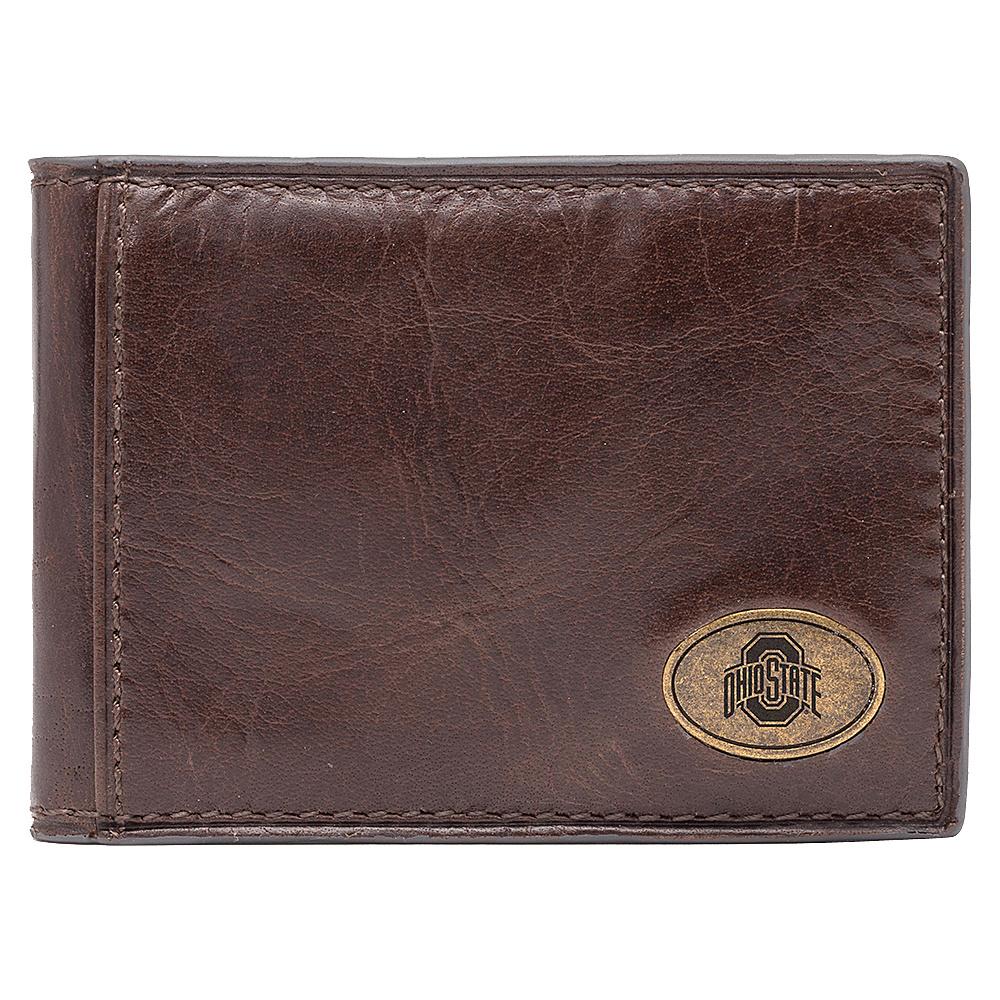 Jack Mason League NCAA Legacy Slim Bifold Ohio State Buckeyes - Jack Mason League Mens Wallets - Work Bags & Briefcases, Men's Wallets