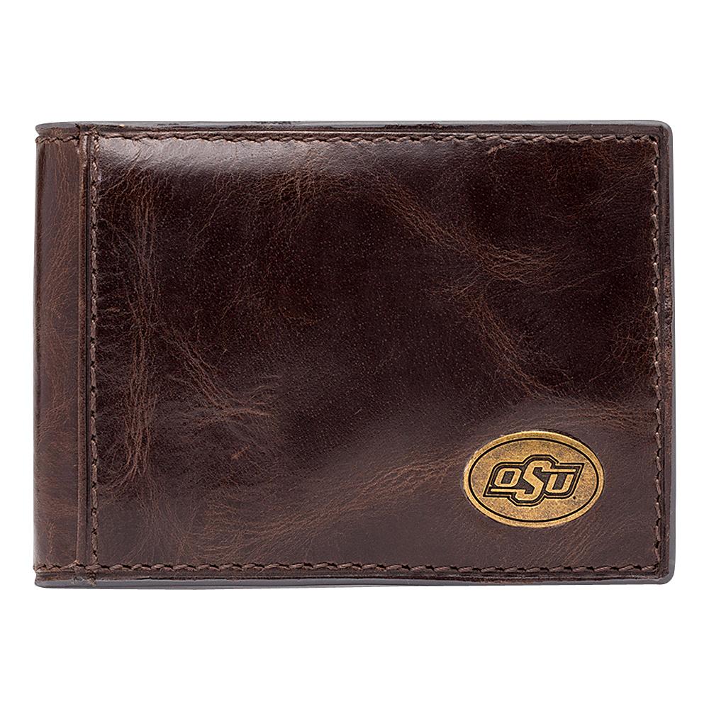 Jack Mason League NCAA Legacy Slim Bifold Oklahoma State Cowboys - Jack Mason League Mens Wallets - Work Bags & Briefcases, Men's Wallets