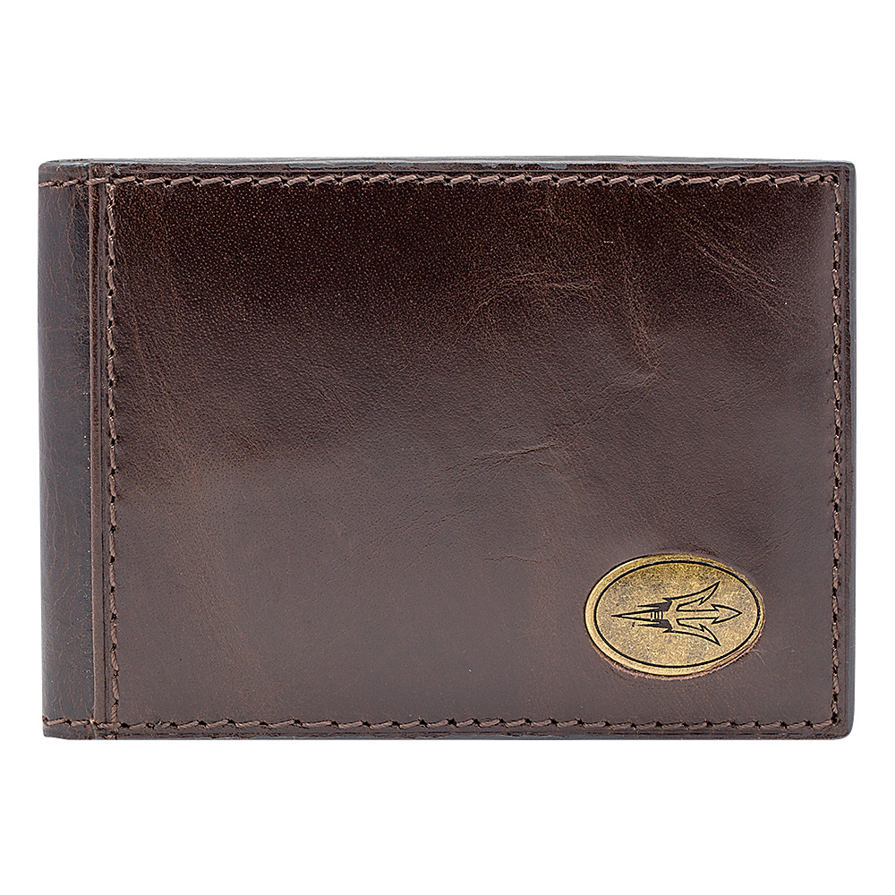 Jack Mason League NCAA Legacy Slim Bifold Arizona State Sun Devils - Jack Mason League Mens Wallets - Work Bags & Briefcases, Men's Wallets