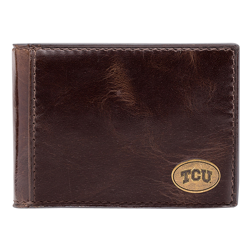 Jack Mason League NCAA Legacy Slim Bifold TCU Horned Frogs - Jack Mason League Mens Wallets - Work Bags & Briefcases, Men's Wallets