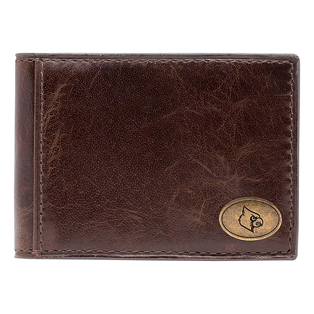 Jack Mason League NCAA Legacy Slim Bifold Louisville Cardinals - Jack Mason League Mens Wallets - Work Bags & Briefcases, Men's Wallets