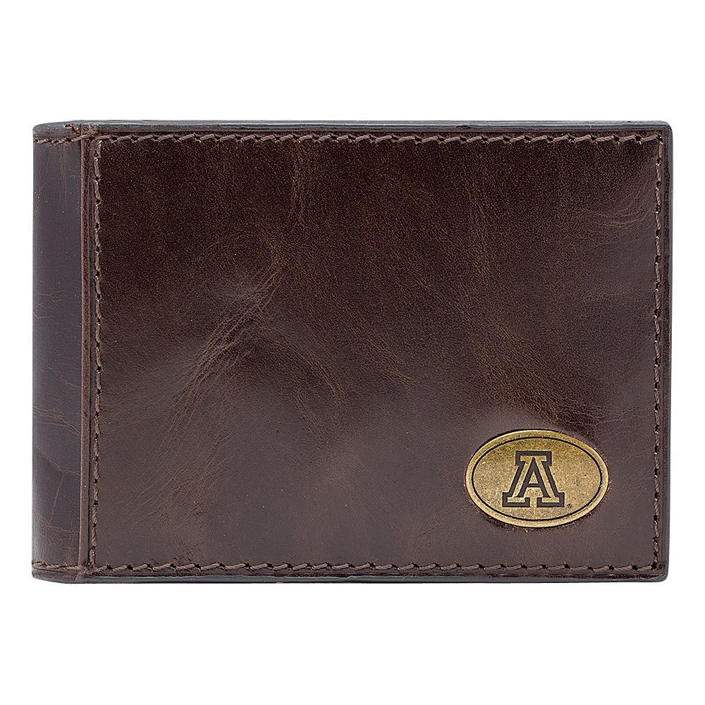 Jack Mason League NCAA Legacy Slim Bifold Arizona Wildcats - Jack Mason League Mens Wallets - Work Bags & Briefcases, Men's Wallets