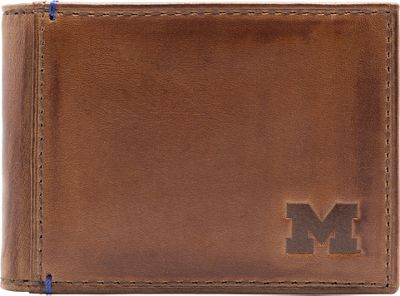 Jack Mason League NCAA Campus Slim Bifold Michigan Wolverines - Jack Mason League Men's Wallets