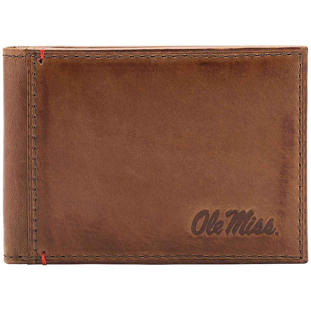 Jack Mason League NCAA Campus Slim Bifold Ole Miss Rebels - Jack Mason League Mens Wallets - Work Bags & Briefcases, Men's Wallets