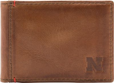 Jack Mason League NCAA Campus Slim Bifold Nebraska Cornhuskers - Jack Mason League Men's Wallets