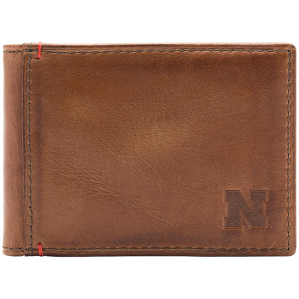 Jack Mason League NCAA Campus Slim Bifold Nebraska Cornhuskers - Jack Mason League Mens Wallets - Work Bags & Briefcases, Men's Wallets