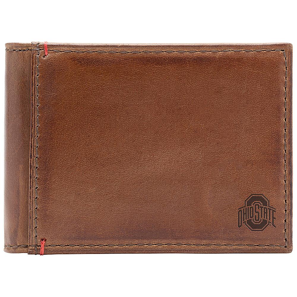 Jack Mason League NCAA Campus Slim Bifold Ohio State Buckeyes - Jack Mason League Mens Wallets - Work Bags & Briefcases, Men's Wallets