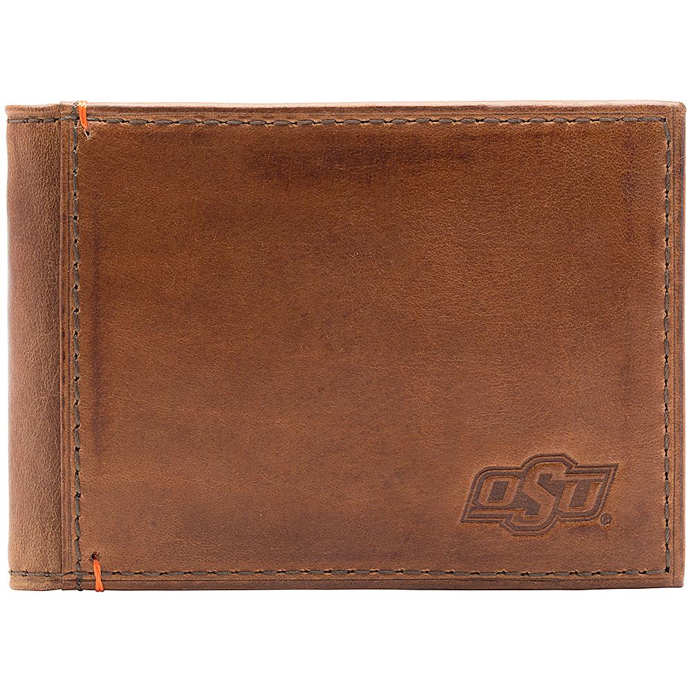 Jack Mason League NCAA Campus Slim Bifold Oklahoma State Cowboys - Jack Mason League Mens Wallets - Work Bags & Briefcases, Men's Wallets
