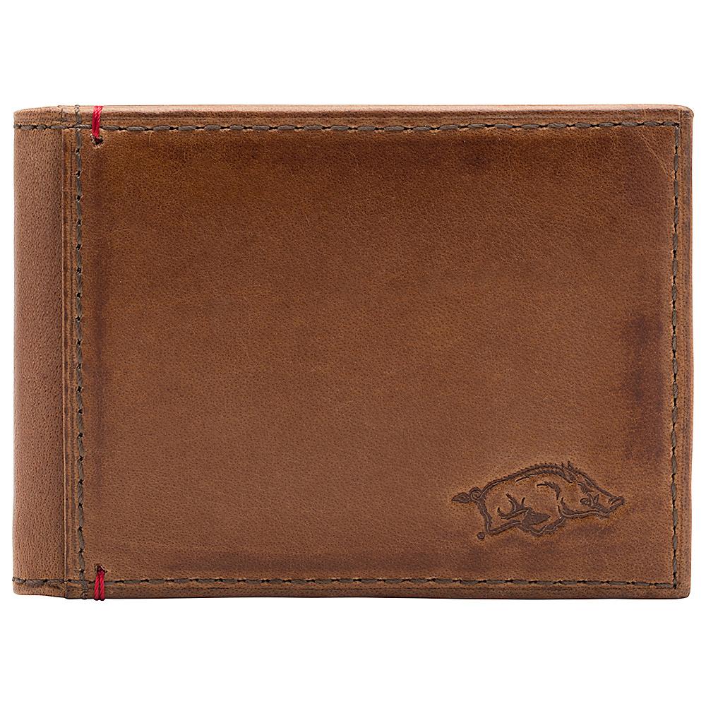 Jack Mason League NCAA Campus Slim Bifold Arkansas Razorbacks - Jack Mason League Mens Wallets - Work Bags & Briefcases, Men's Wallets