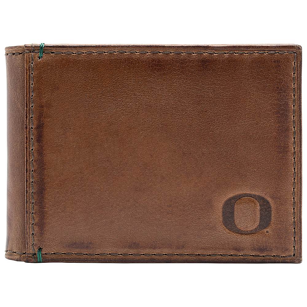 Jack Mason League NCAA Campus Slim Bifold Oregon Ducks - Jack Mason League Mens Wallets - Work Bags & Briefcases, Men's Wallets