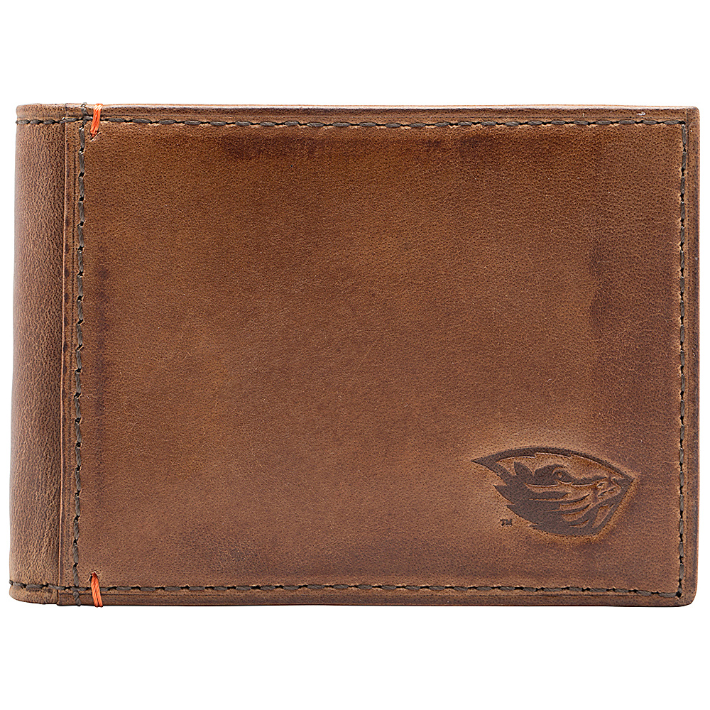 Jack Mason League NCAA Campus Slim Bifold Oregon State Beavers - Jack Mason League Mens Wallets - Work Bags & Briefcases, Men's Wallets