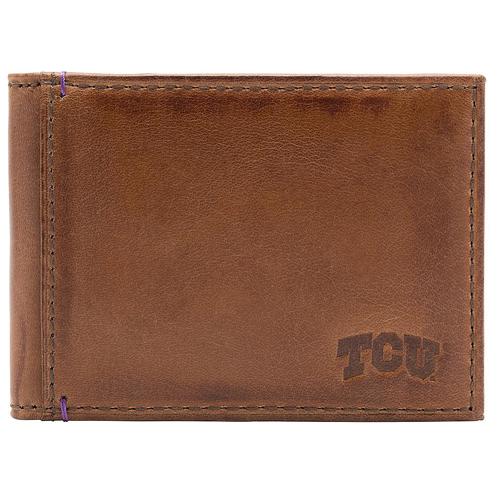 Jack Mason League NCAA Campus Slim Bifold TCU Horned Frogs - Jack Mason League Mens Wallets - Work Bags & Briefcases, Men's Wallets