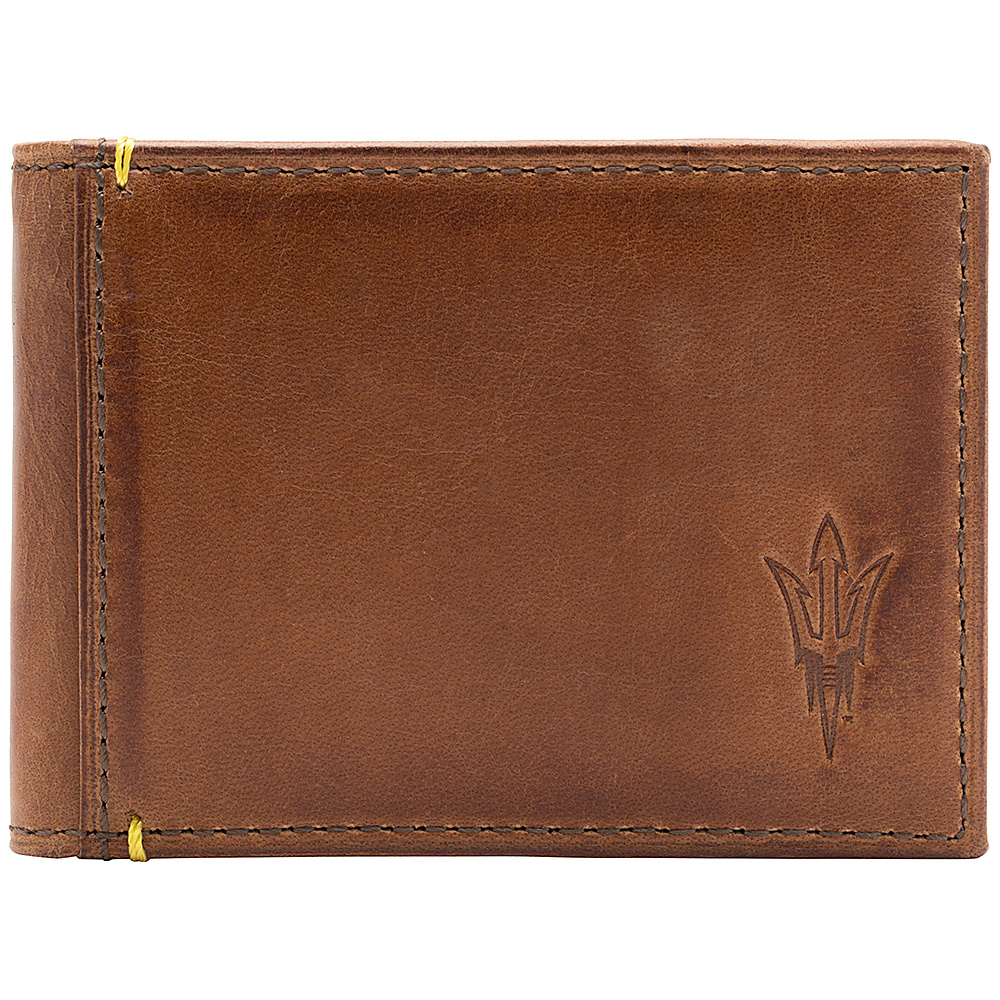 Jack Mason League NCAA Campus Slim Bifold Arizona State Sun Devils - Jack Mason League Mens Wallets - Work Bags & Briefcases, Men's Wallets