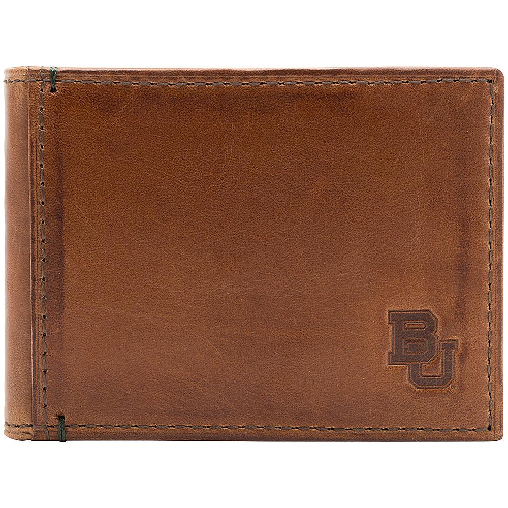 Jack Mason League NCAA Campus Slim Bifold Baylor Bears - Jack Mason League Mens Wallets - Work Bags & Briefcases, Men's Wallets