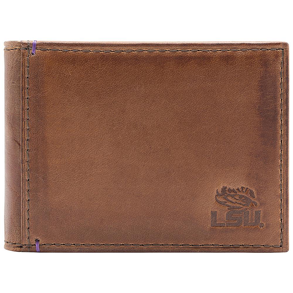 Jack Mason League NCAA Campus Slim Bifold LSU Tigers - Jack Mason League Mens Wallets - Work Bags & Briefcases, Men's Wallets