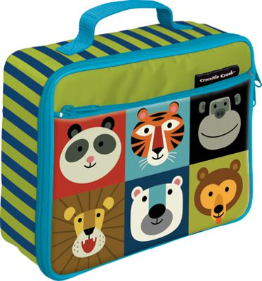 Crocodile Creek Inc Jungle Jamboree Classic Lunchbox Jungle Jamboree - Crocodile Creek Inc Travel Coolers