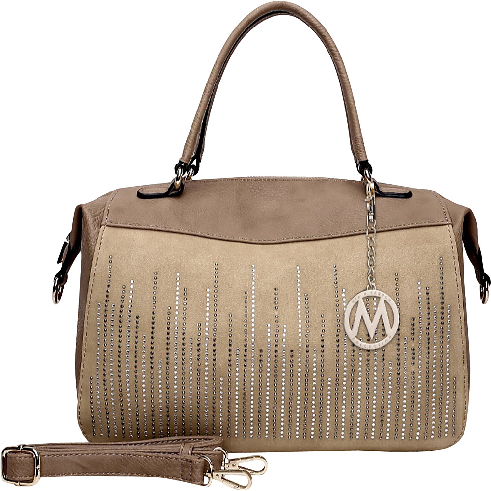 MKF Collection by Mia K. Farrow Zaya Satchel Soil - MKF Collection by Mia K. Farrow Manmade Handbags - Handbags, Manmade Handbags