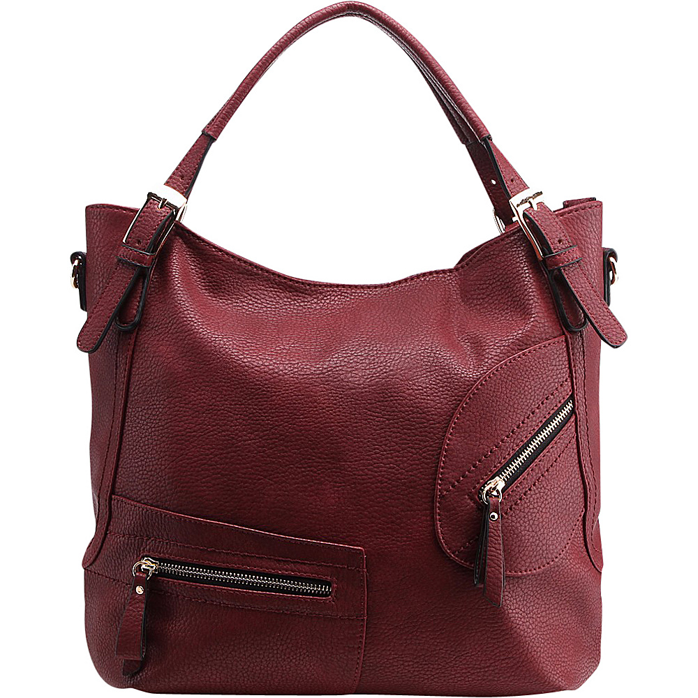 MKF Collection Merissa is a Seasonal Hobo Red - MKF Collection Manmade Handbags - Handbags, Manmade Handbags