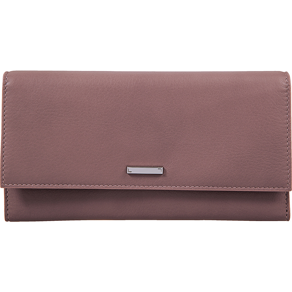 Lodis Mill Valley Under Lock & Key Cami Clutch Wallet Lilac - Lodis Designer Handbags - Handbags, Designer Handbags