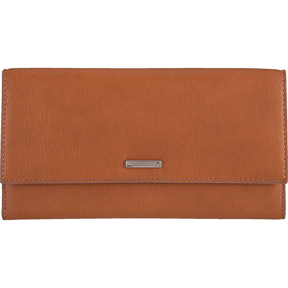 Lodis Mill Valley Under Lock & Key Cami Clutch Wallet Toffee - Lodis Designer Handbags - Handbags, Designer Handbags