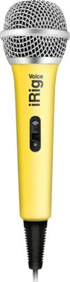 IK Multimedia iRig Voice Handheld Microphone for Smartphone/Tablet Yellow - IK Multimedia Electronic Accessories