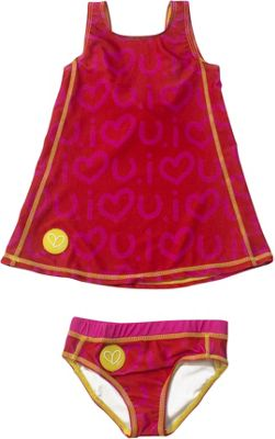 Biglove Kids Swim Dress & Pantie 2T - Love - Biglove Women's Apparel