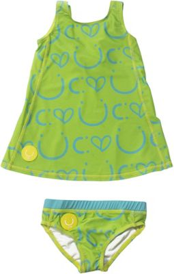 Biglove Kids Swim Dress & Pantie 4T - Happiness - Biglove Women's Apparel