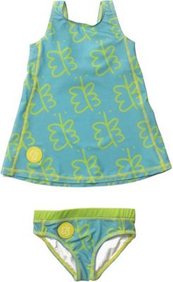 Biglove Kids Swim Dress & Pantie 4T - Freedom - Biglove Women's Apparel