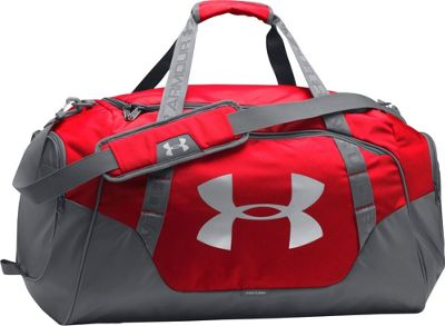 Under Armour Undeniable Large Duffle 3.0 Red/Graphite/Silver - Under Armour Gym Duffels