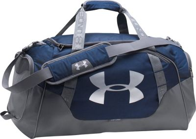 Under Armour Undeniable Large Duffle 3.0 Midnight Navy/Graphite/Silver - Under Armour Gym Duffels