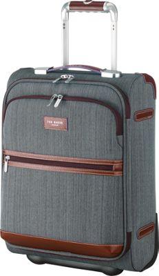 Ted Baker Luggage Falconwood 2 Wheel Trolley Carry-On Luggage Grey - Ted Baker Luggage Kids' Luggage