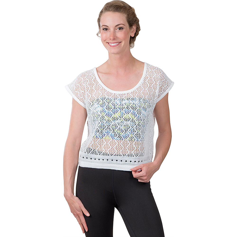 Soybu Sunset Crew S - White - Soybu Womens Apparel - Apparel & Footwear, Women's Apparel
