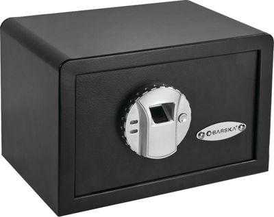Barska Compact Biometric Security Safe Black - Barska Business Accessories