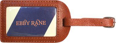 Ebby Rane Luggage Tag Cognac - Ebby Rane Luggage Accessories