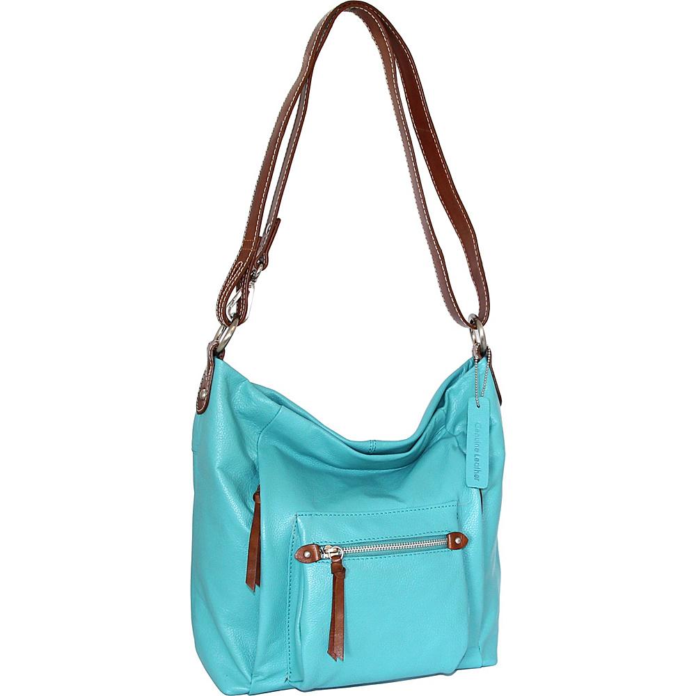 Nino Bossi Mariel Shoulder Bag Turquoise - Nino Bossi Leather Handbags - Handbags, Leather Handbags