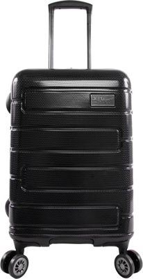 Original Penguin Luggage Original Penguin Luggage Crimson 21 inch Expandable Hardside Carry-On Spinner Luggage Black - Original Penguin Luggage Hardside Carry-On