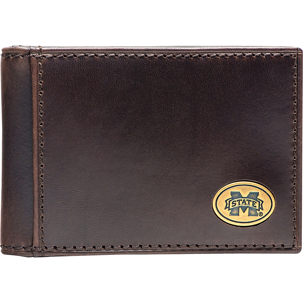 Jack Mason League NCAA Legacy Flip Bifold Front Pocket Wallet Mississippi State - Jack Mason League Mens Wallets - Work Bags & Briefcases, Men's Wallets