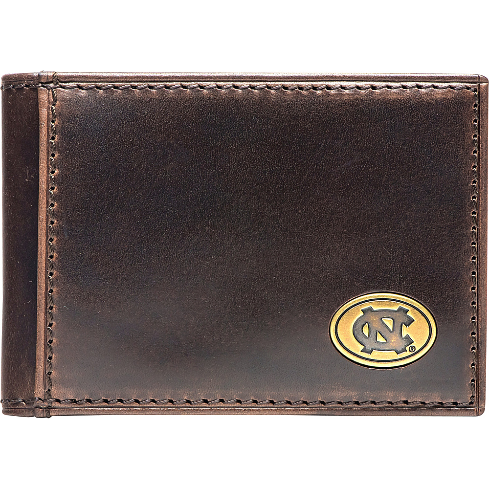 Jack Mason League NCAA Legacy Flip Bifold Front Pocket Wallet North Carolina - Jack Mason League Mens Wallets - Work Bags & Briefcases, Men's Wallets