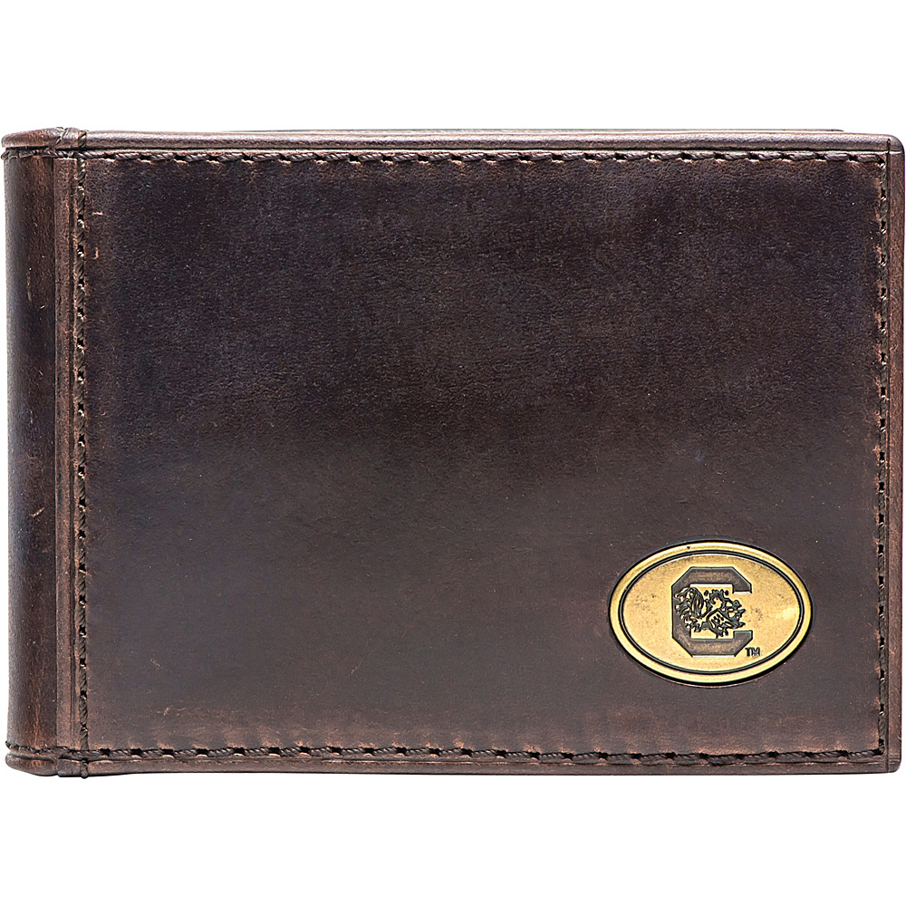 Jack Mason League NCAA Legacy Flip Bifold Front Pocket Wallet South Carolina - Jack Mason League Mens Wallets - Work Bags & Briefcases, Men's Wallets