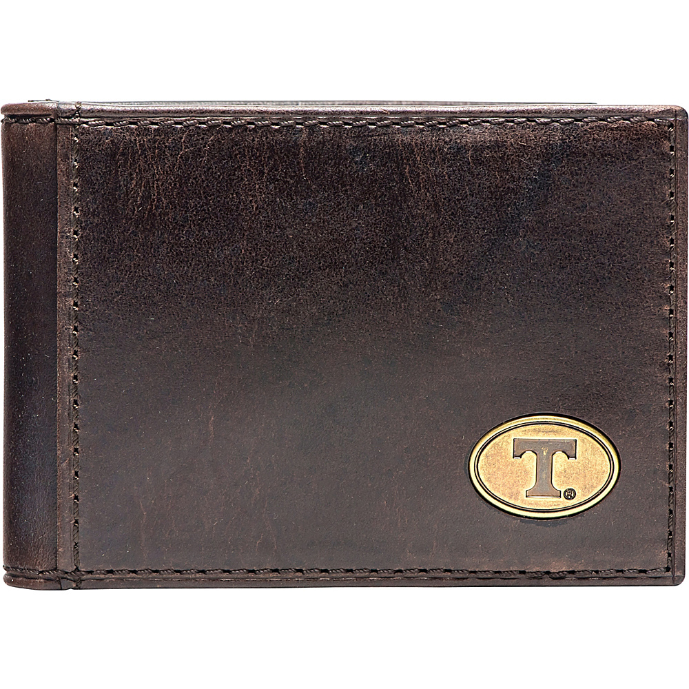 Jack Mason League NCAA Legacy Flip Bifold Front Pocket Wallet Tennessee - Jack Mason League Mens Wallets - Work Bags & Briefcases, Men's Wallets