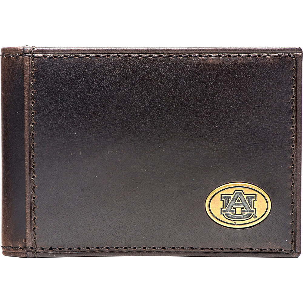 Jack Mason League NCAA Legacy Flip Bifold Front Pocket Wallet Auburn - Jack Mason League Mens Wallets - Work Bags & Briefcases, Men's Wallets