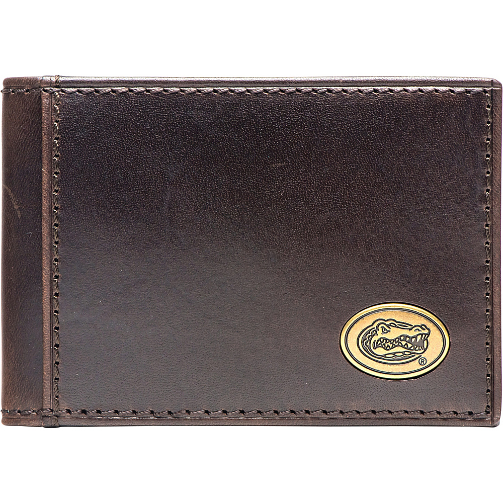 Jack Mason League NCAA Legacy Flip Bifold Front Pocket Wallet Florida - Jack Mason League Mens Wallets - Work Bags & Briefcases, Men's Wallets