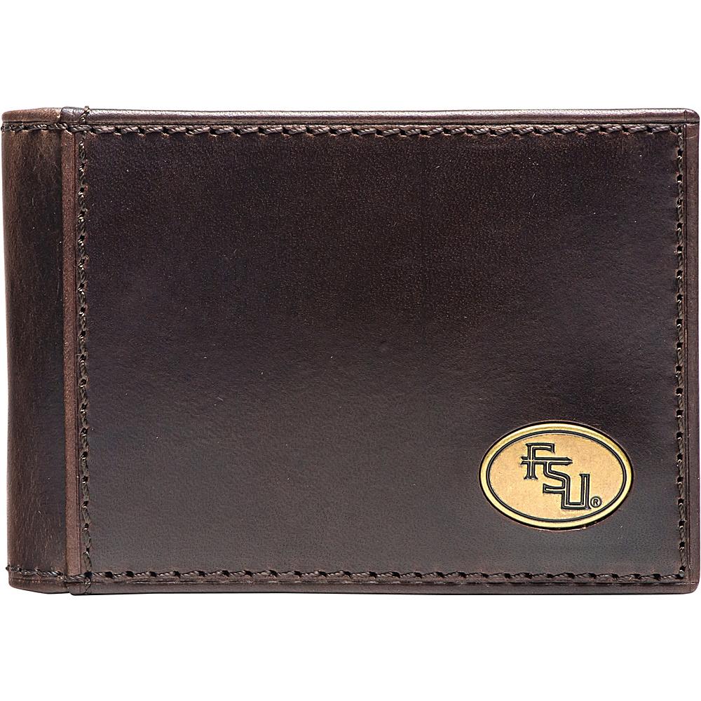 Jack Mason League NCAA Legacy Flip Bifold Front Pocket Wallet Florida State - Jack Mason League Mens Wallets - Work Bags & Briefcases, Men's Wallets