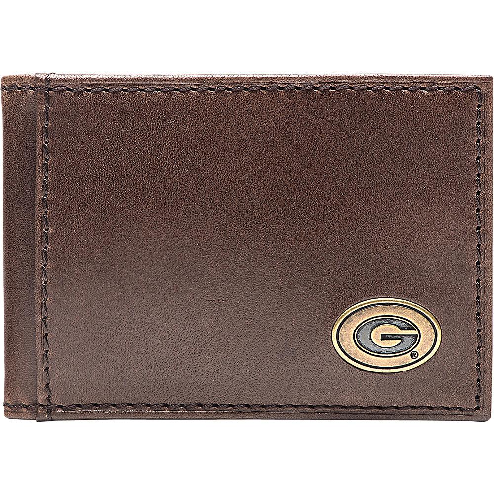 Jack Mason League NCAA Legacy Flip Bifold Front Pocket Wallet Georgia - Jack Mason League Mens Wallets - Work Bags & Briefcases, Men's Wallets