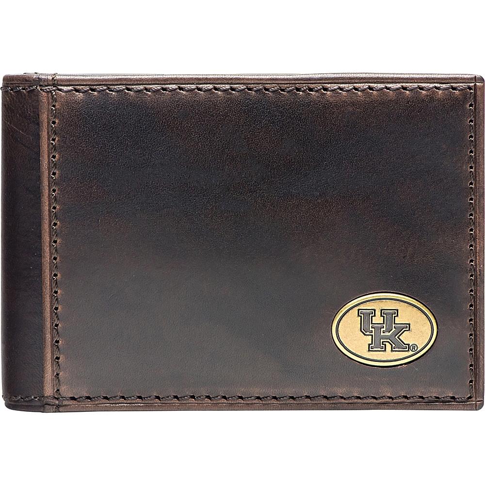 Jack Mason League NCAA Legacy Flip Bifold Front Pocket Wallet Kentucky - Jack Mason League Mens Wallets - Work Bags & Briefcases, Men's Wallets
