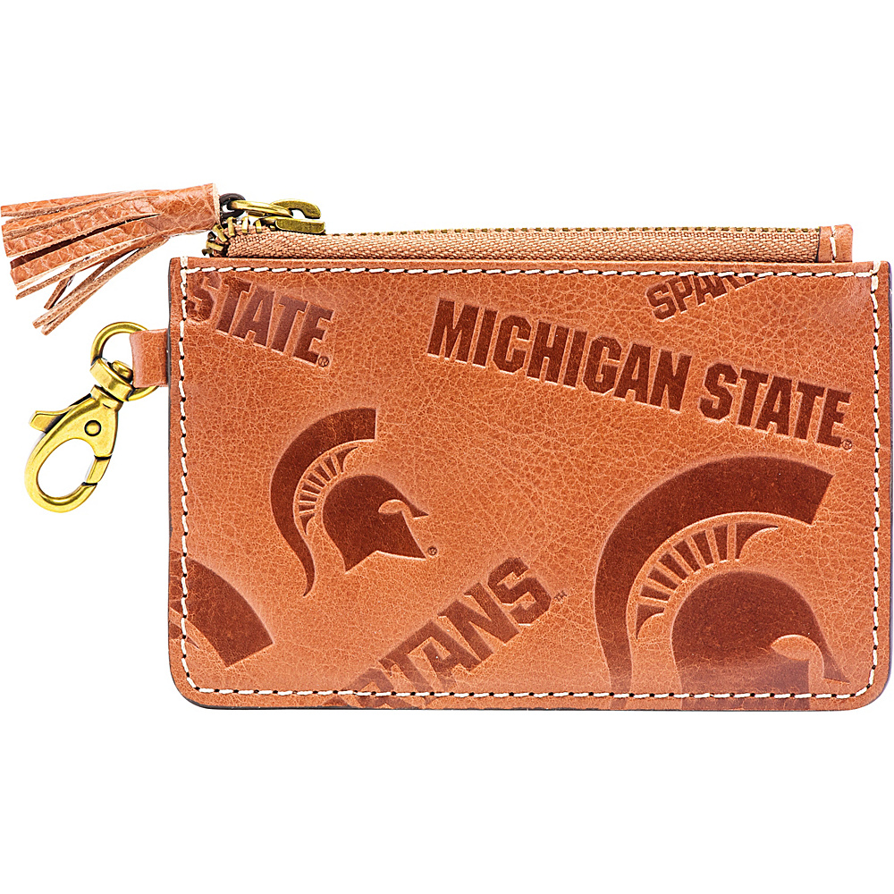Jack Mason League NCAA Sideline Zip Coin Wallet Michigan State Spartans - Jack Mason League Designer Handbags - Handbags, Designer Handbags